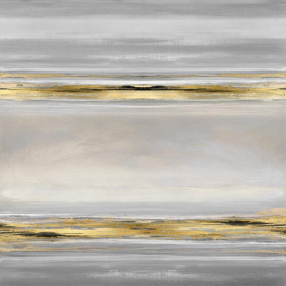 konfigurieren des Kunstdrucks in Wunschgröße Linear Motion in Grey von Corbin, Allie