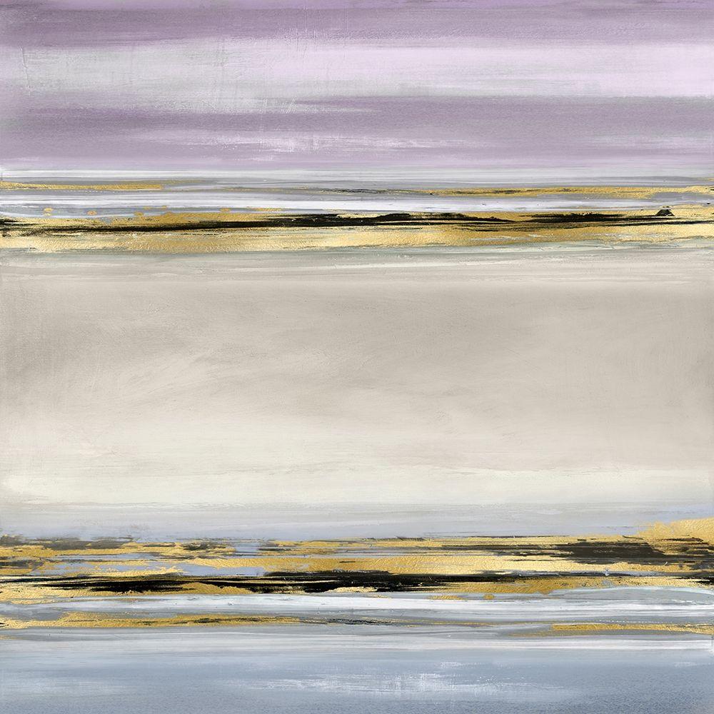 konfigurieren des Kunstdrucks in Wunschgröße Linear Motion in Lavender von Corbin, Allie