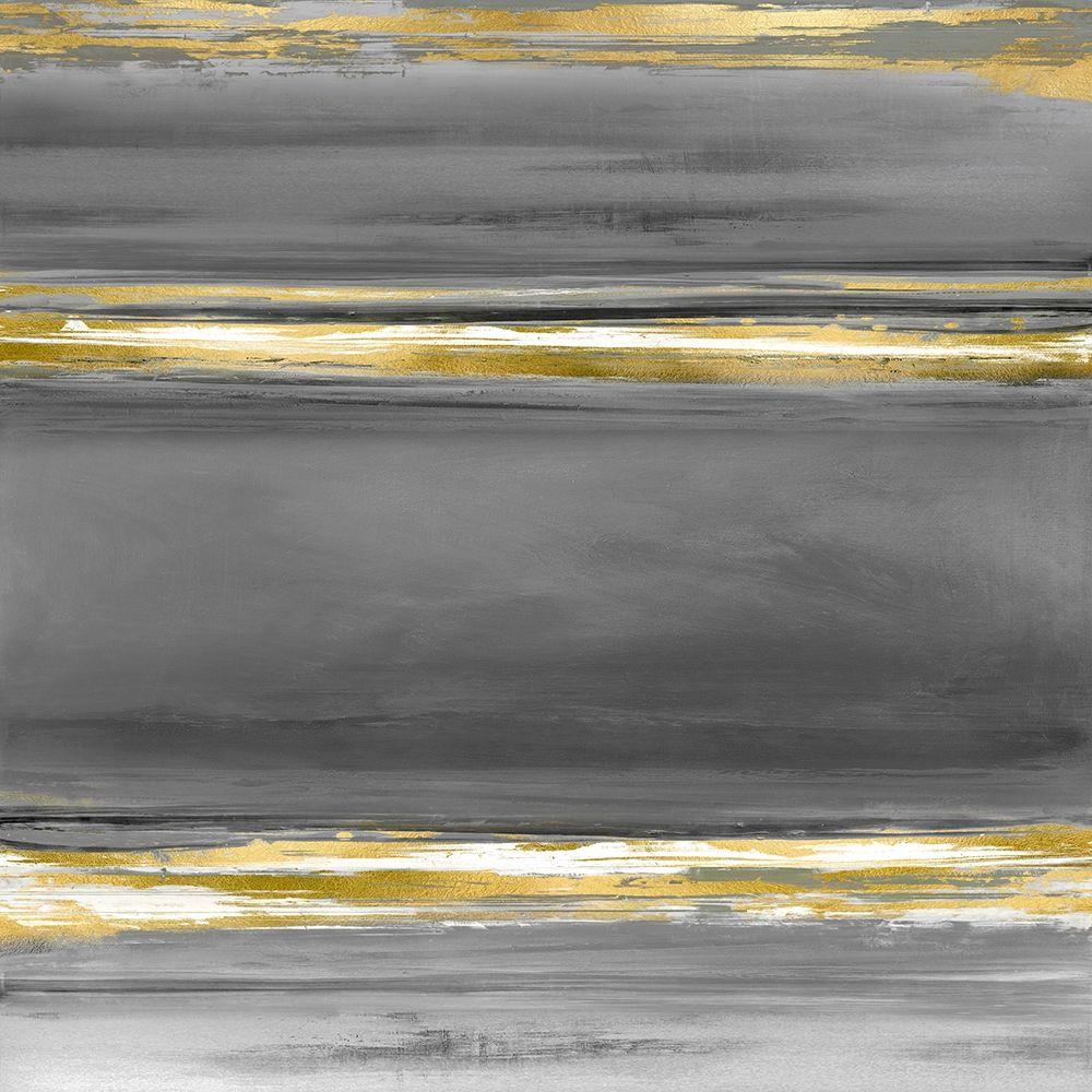 konfigurieren des Kunstdrucks in Wunschgröße Parallels in Grey von Corbin, Allie