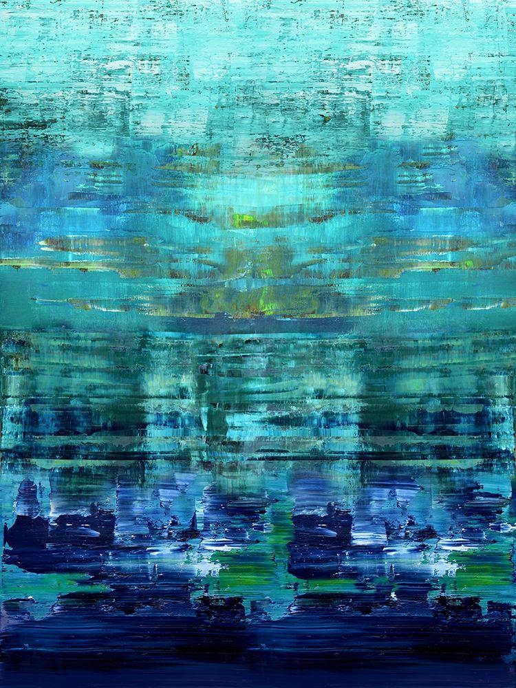 konfigurieren des Kunstdrucks in Wunschgröße Aqua Reflections von Corbin, Allie