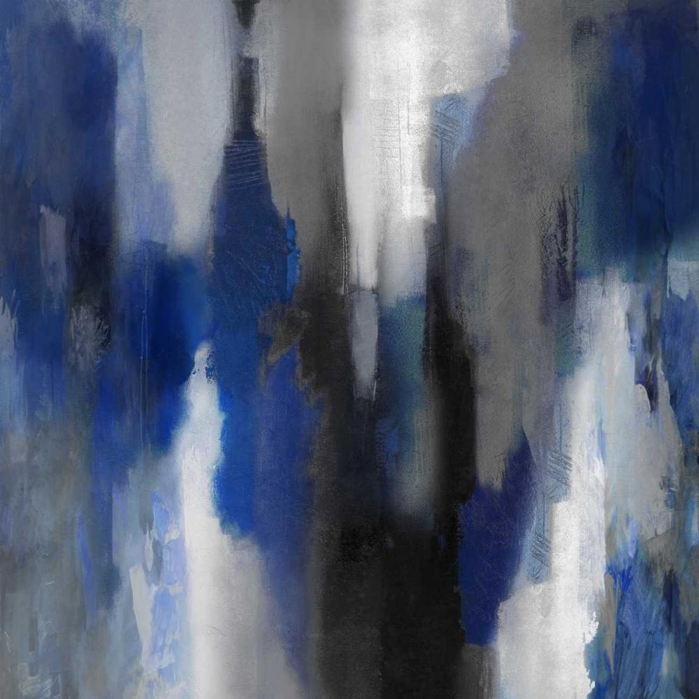 konfigurieren des Kunstdrucks in Wunschgröße Apex Blue I von Spencer, Carey