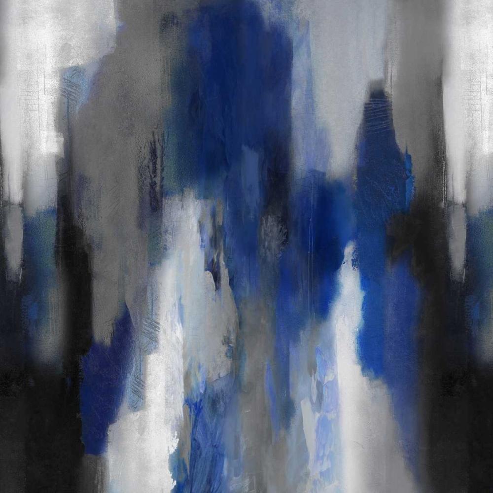 konfigurieren des Kunstdrucks in Wunschgröße Apex Blue II von Spencer, Carey