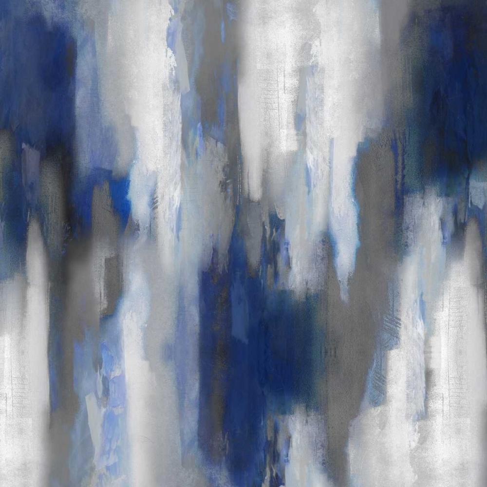 konfigurieren des Kunstdrucks in Wunschgröße Apex Blue III von Spencer, Carey