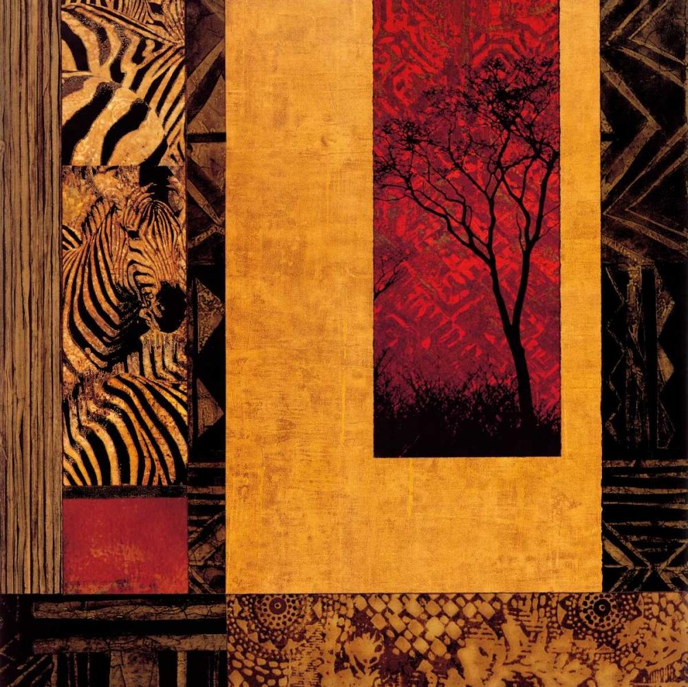 konfigurieren des Kunstdrucks in Wunschgröße African Studies II von Donovan, Chris
