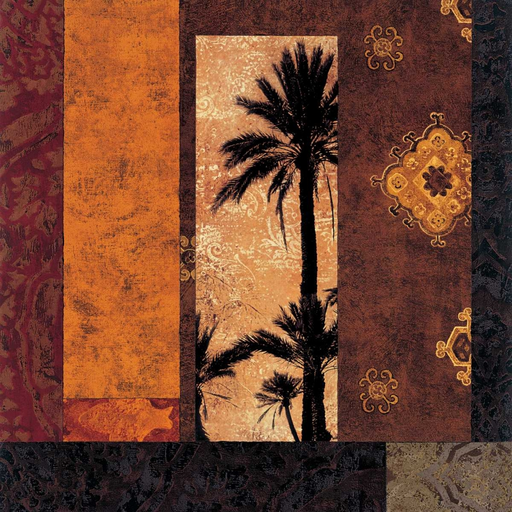 konfigurieren des Kunstdrucks in Wunschgröße Moroccan Nights II von Donovan, Chris