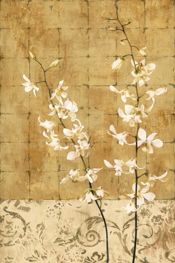 konfigurieren des Kunstdrucks in Wunschgröße Blossoms in Gold I von Donovan, Chris