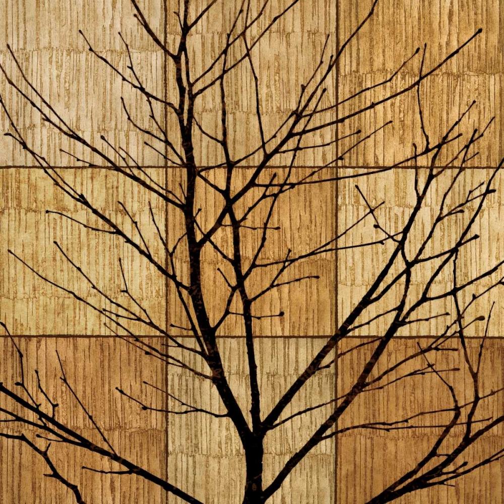konfigurieren des Kunstdrucks in Wunschgröße Tree Silhouette II von Donovan, Chris