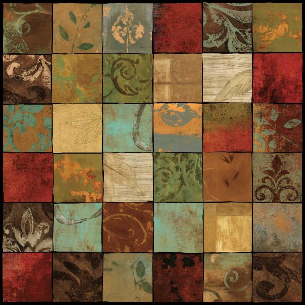 konfigurieren des Kunstdrucks in Wunschgröße Treasures II von Donovan, Chris