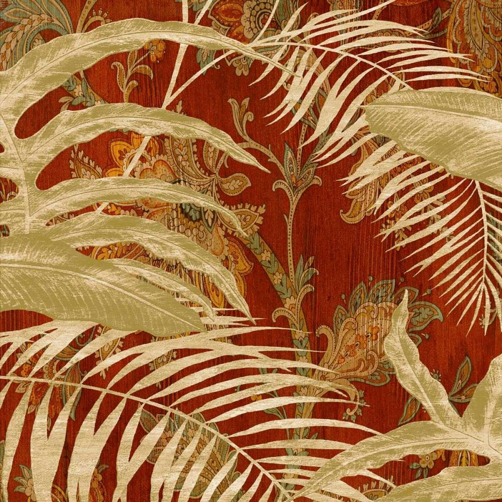 konfigurieren des Kunstdrucks in Wunschgröße Tropical Garden II von Donovan, Chris