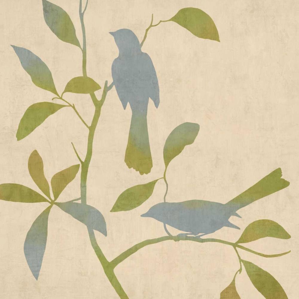 konfigurieren des Kunstdrucks in Wunschgröße Birdsong I von Donovan, Chris