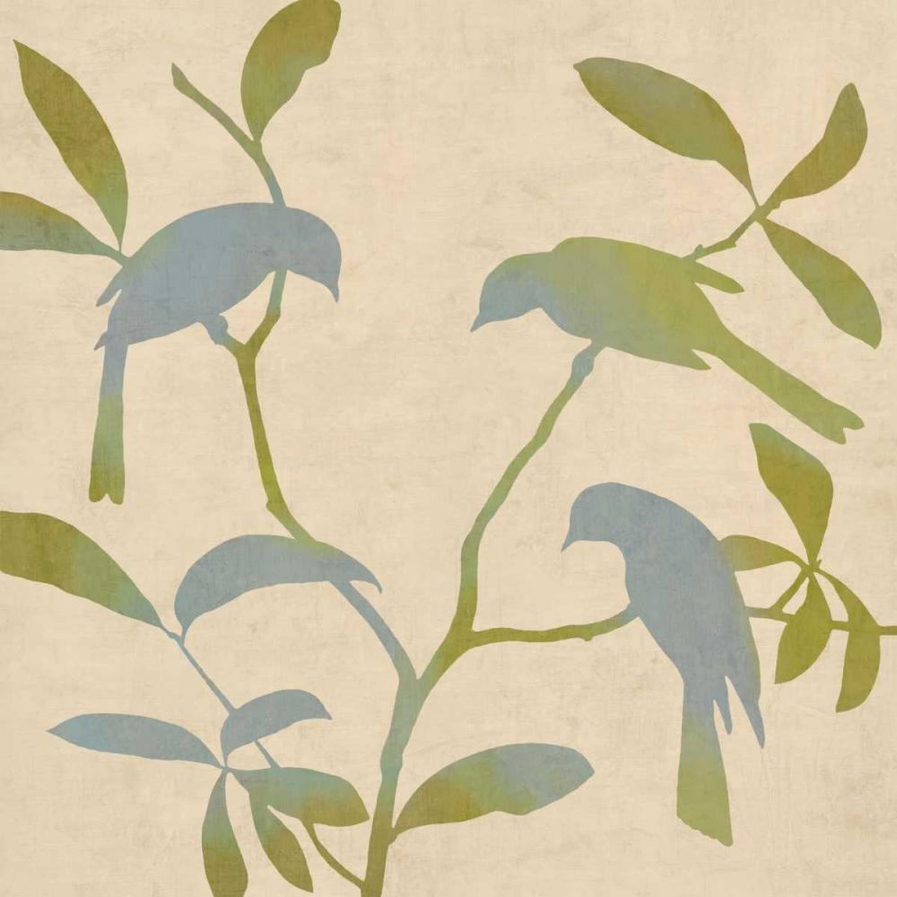 konfigurieren des Kunstdrucks in Wunschgröße Birdsong II von Donovan, Chris