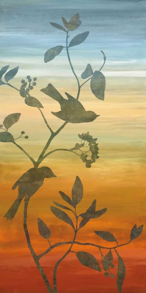 konfigurieren des Kunstdrucks in Wunschgröße Sunset Friends I von Donovan, Chris