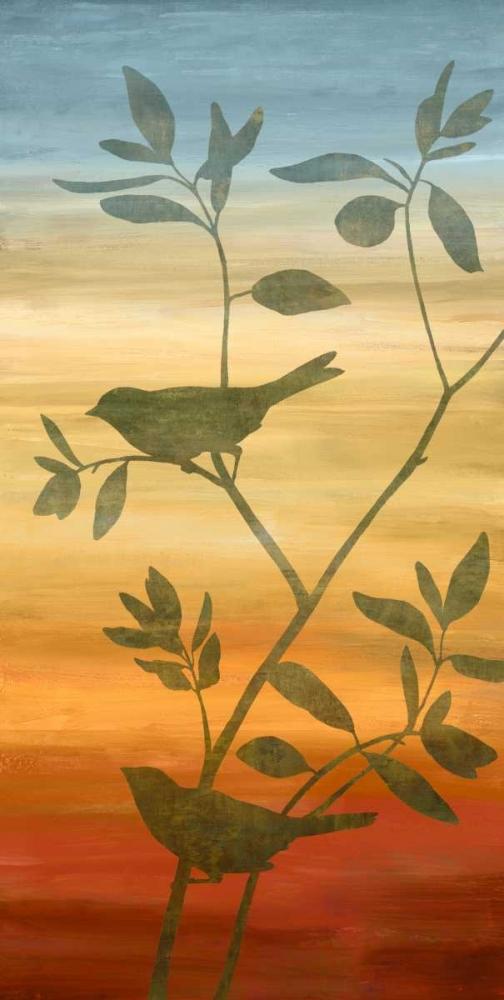 konfigurieren des Kunstdrucks in Wunschgröße Sunset Friends II von Donovan, Chris