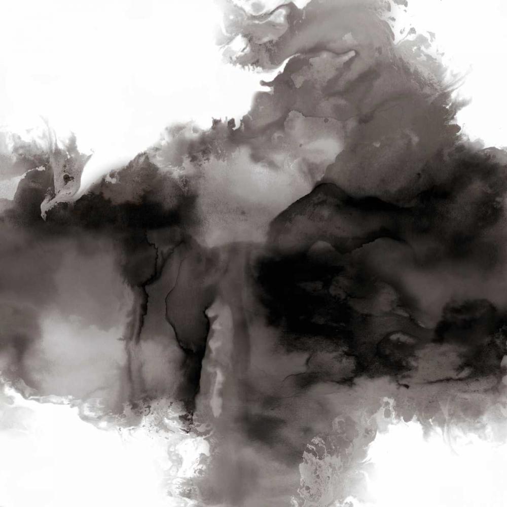konfigurieren des Kunstdrucks in Wunschgröße Derive Noir I von Hudson, Daniela