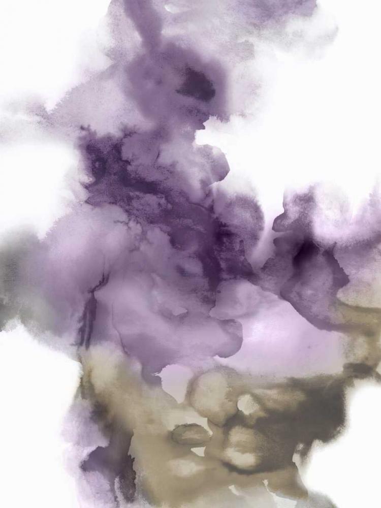 konfigurieren des Kunstdrucks in Wunschgröße Derive in Amethyst I von Hudson, Daniela