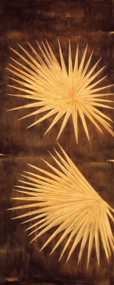konfigurieren des Kunstdrucks in Wunschgröße Fan Palm Triptych I von Parks, David