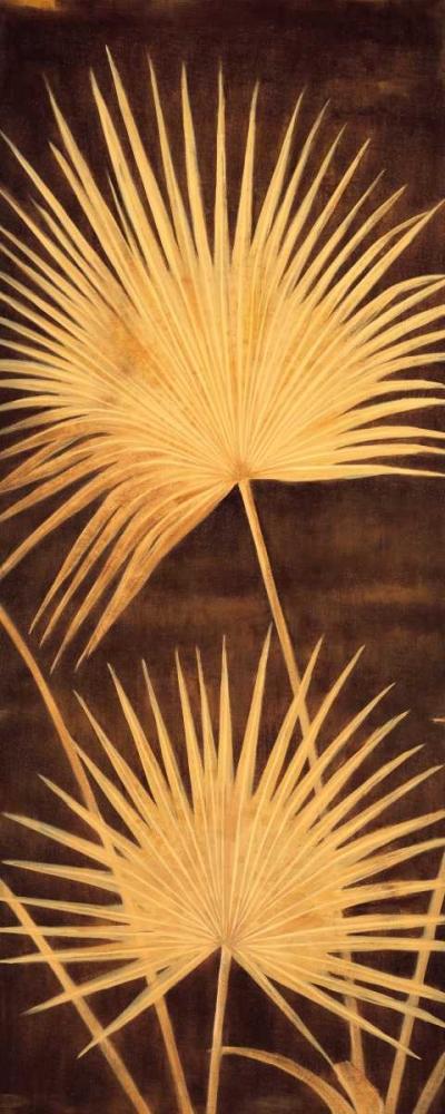 konfigurieren des Kunstdrucks in Wunschgröße Fan Palm Triptych II von Parks, David