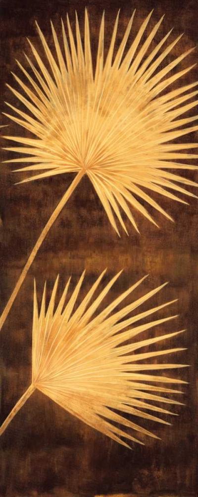 konfigurieren des Kunstdrucks in Wunschgröße Fan Palm Triptych III von Parks, David