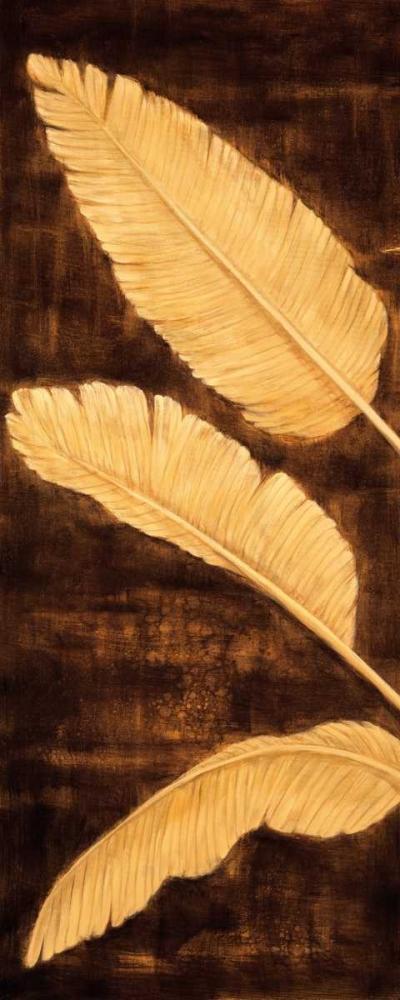 konfigurieren des Kunstdrucks in Wunschgröße Tropical Palm Triptych I von Parks, David