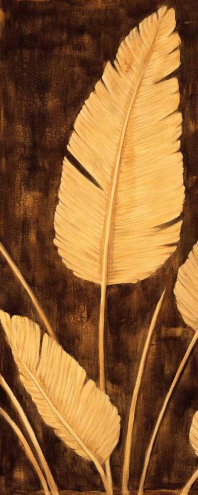 konfigurieren des Kunstdrucks in Wunschgröße Tropical Palm Triptych II von Parks, David