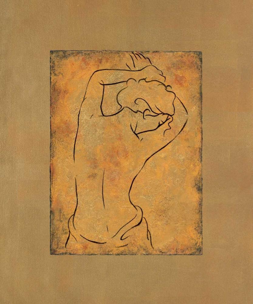 konfigurieren des Kunstdrucks in Wunschgröße Etude de femme I von Bennion, Dan