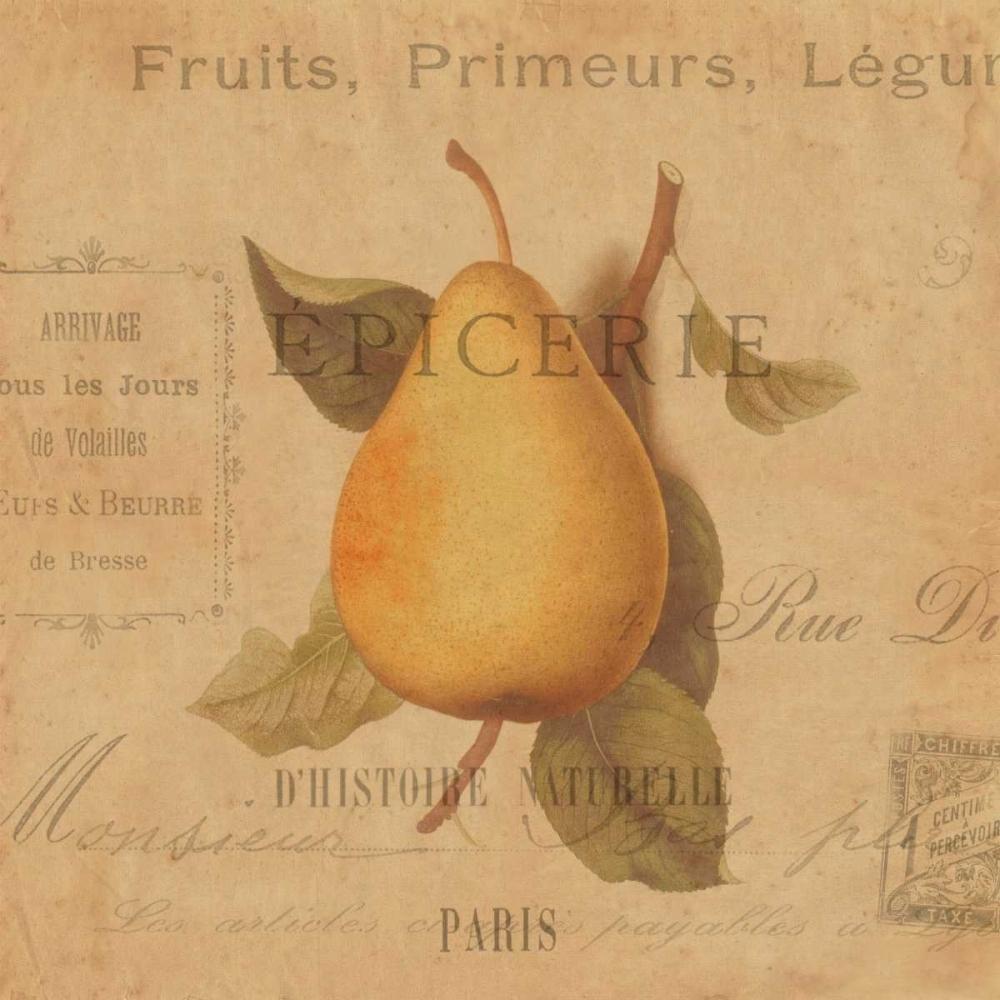 konfigurieren des Kunstdrucks in Wunschgröße Poire von Devellier, Deborah