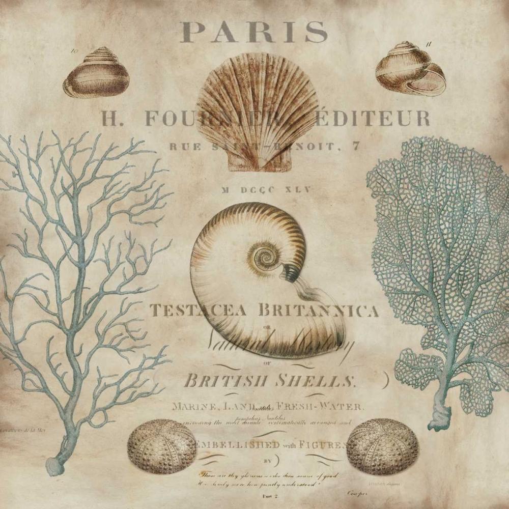 konfigurieren des Kunstdrucks in Wunschgröße Le Mer I von Devellier, Deborah
