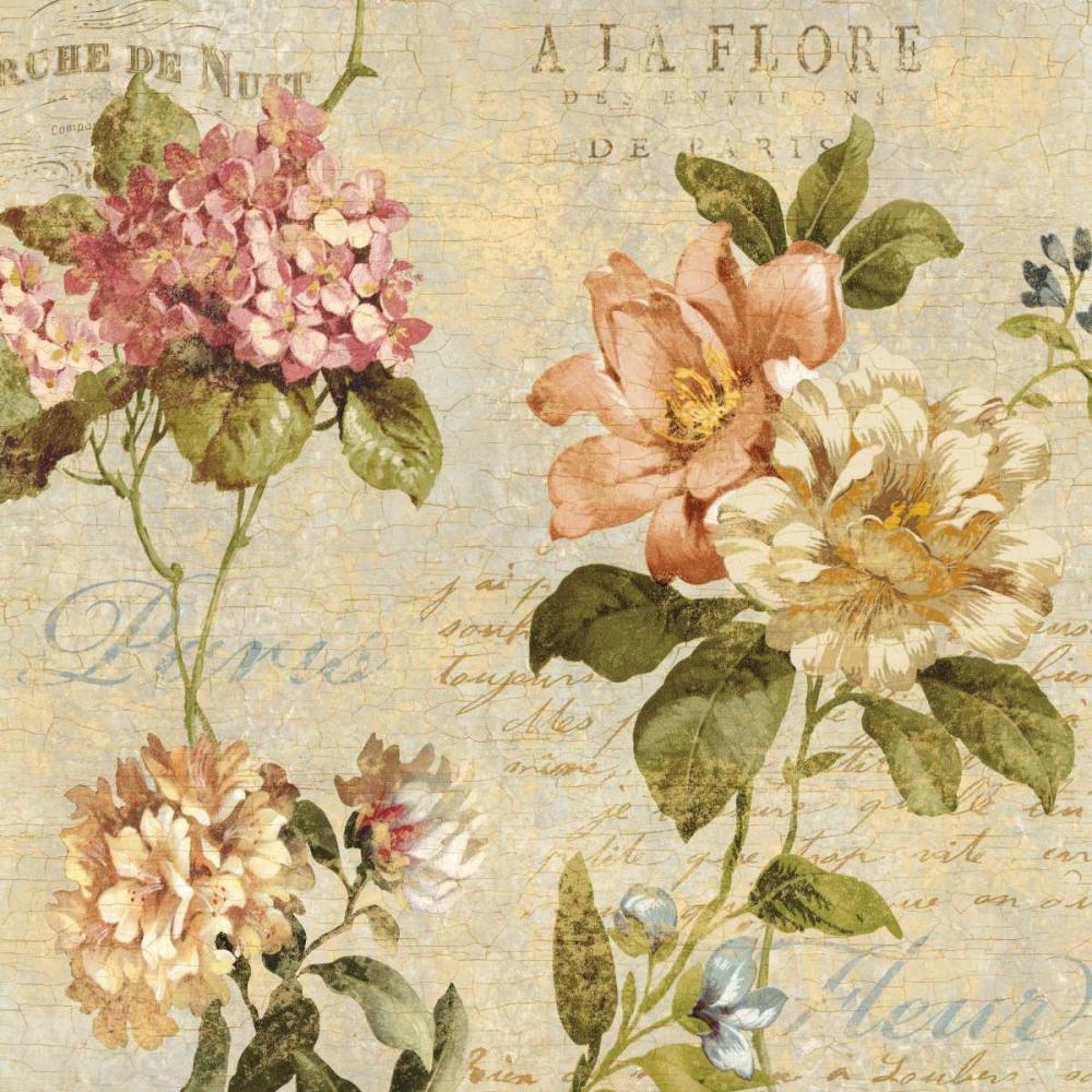 konfigurieren des Kunstdrucks in Wunschgröße Fleur Paris I von Devellier, Deborah