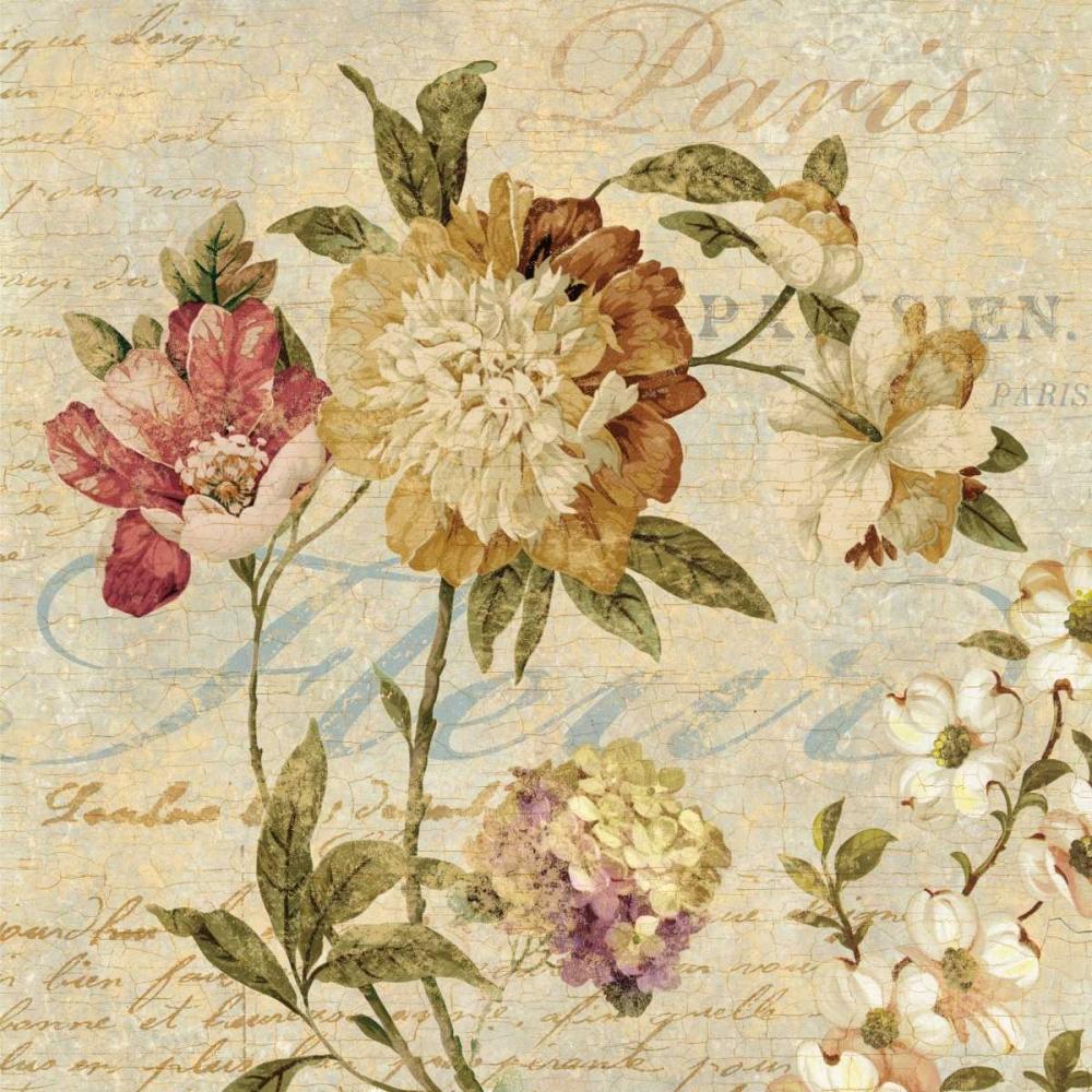 konfigurieren des Kunstdrucks in Wunschgröße Fleur Paris II von Devellier, Deborah