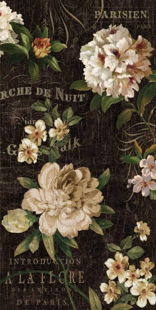 konfigurieren des Kunstdrucks in Wunschgröße Fleurs Antique I von Devellier, Deborah