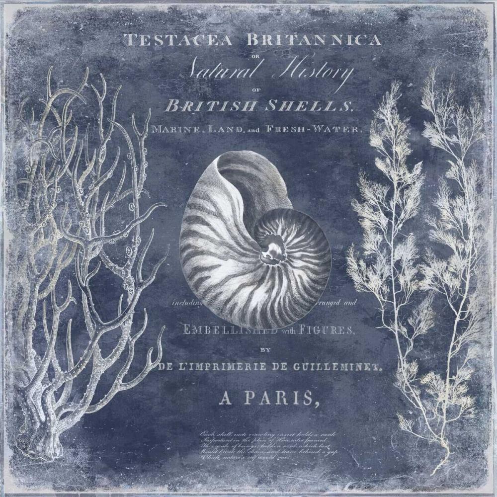 konfigurieren des Kunstdrucks in Wunschgröße The Deep Blue Sea I von Devellier, Deborah