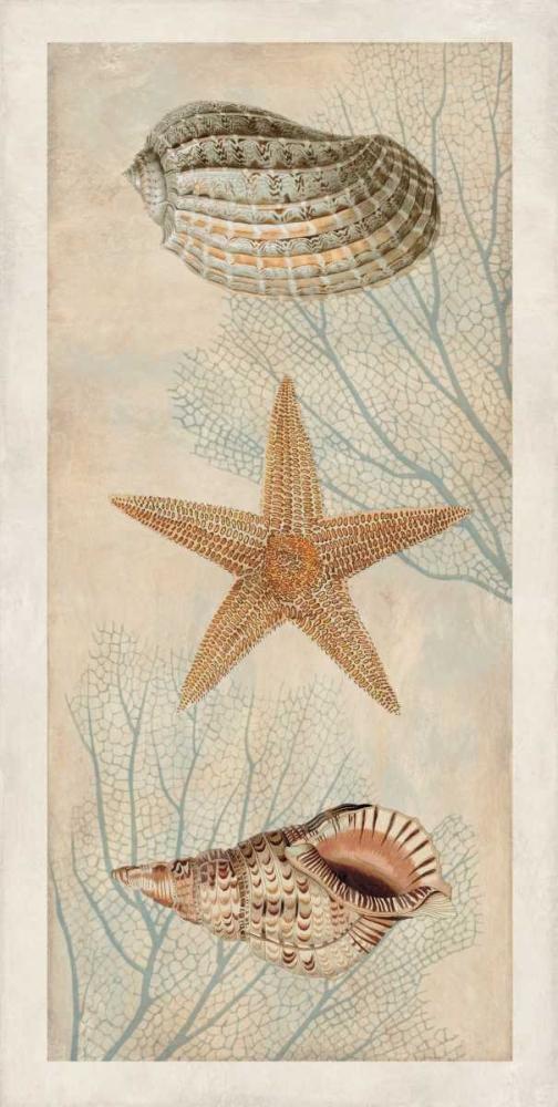 konfigurieren des Kunstdrucks in Wunschgröße Ocean Companions I von Devellier, Deborah