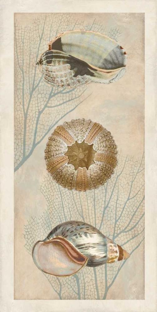 konfigurieren des Kunstdrucks in Wunschgröße Ocean Companions II von Devellier, Deborah