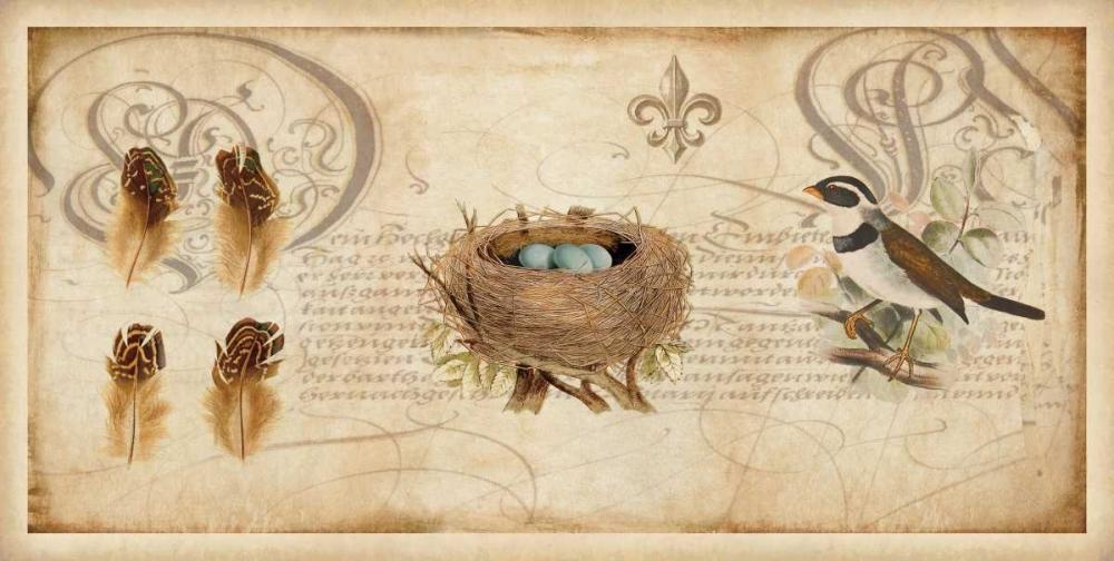 konfigurieren des Kunstdrucks in Wunschgröße Nesting I von Devellier, Deborah
