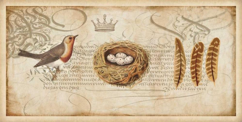 konfigurieren des Kunstdrucks in Wunschgröße Nesting II von Devellier, Deborah