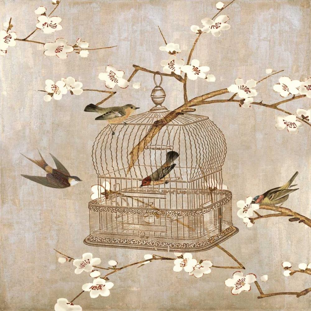 konfigurieren des Kunstdrucks in Wunschgröße At Home I von Devellier, Deborah