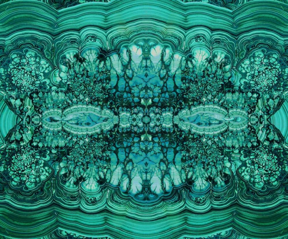konfigurieren des Kunstdrucks in Wunschgröße Majestic Malachite von Carson, Danielle