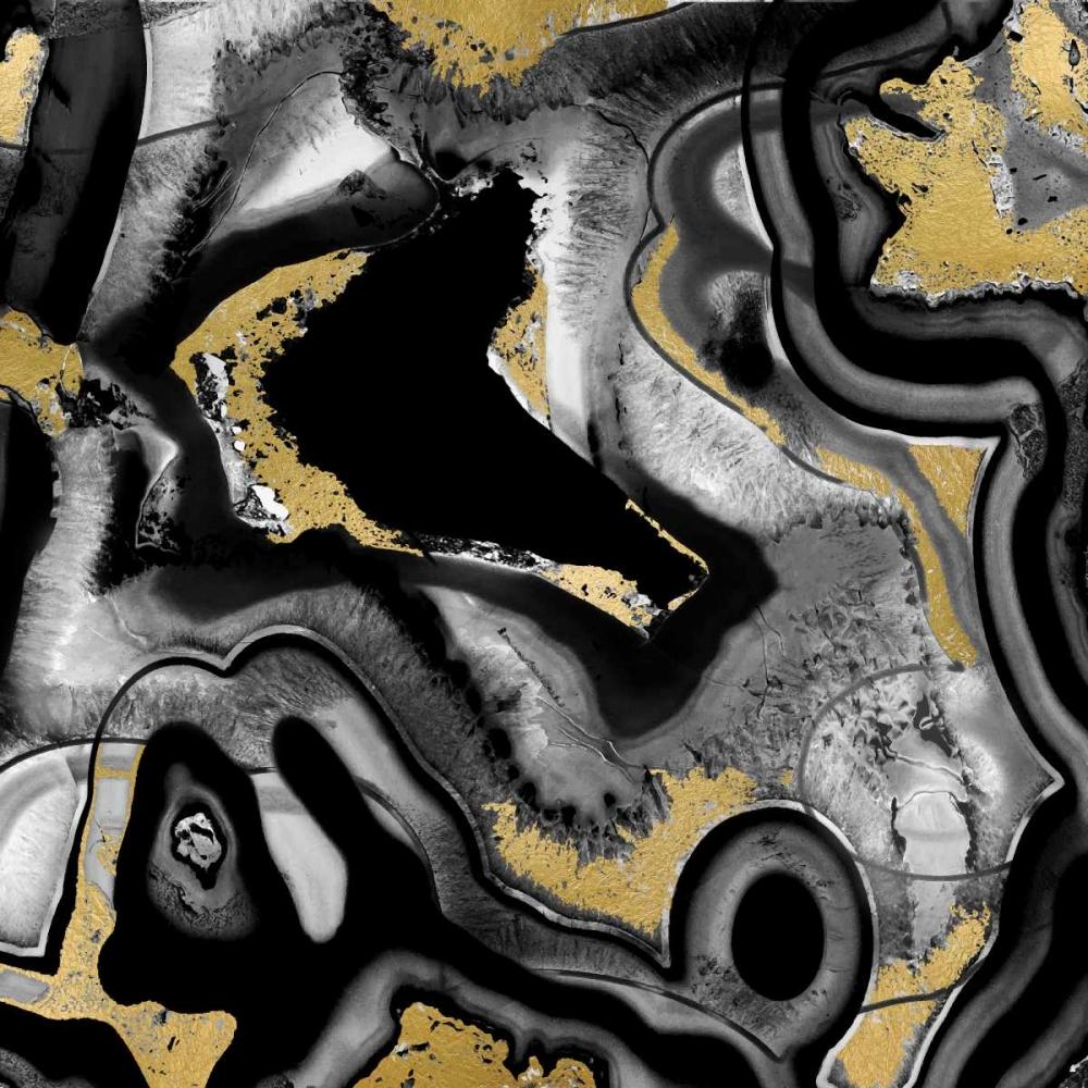 konfigurieren des Kunstdrucks in Wunschgröße Agate Noir II von Carson, Danielle
