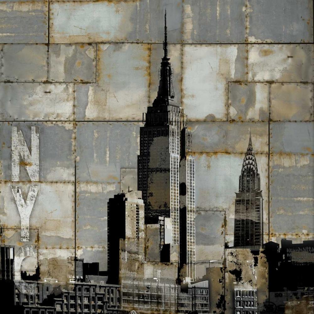 konfigurieren des Kunstdrucks in Wunschgröße NYC Industrial II von Matthews, Dylan