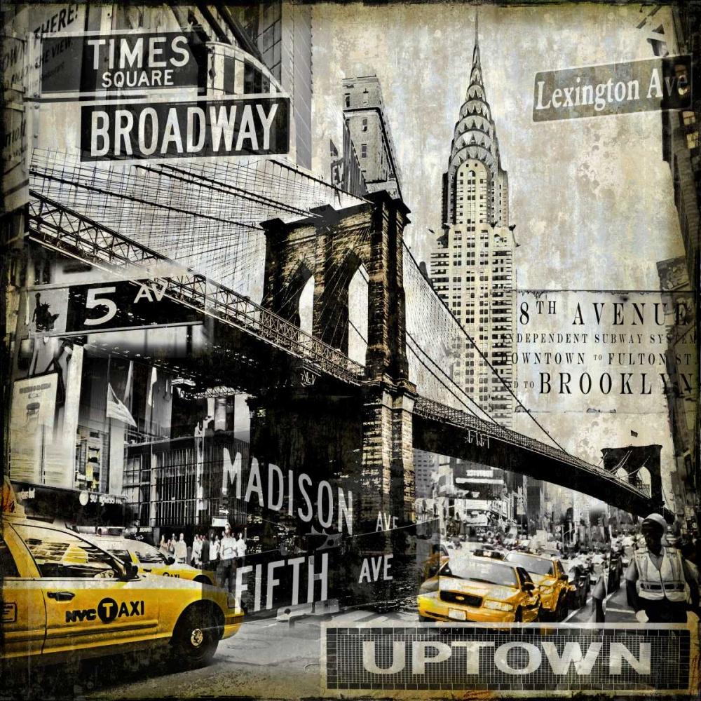 konfigurieren des Kunstdrucks in Wunschgröße Landmarks NYC von Matthews, Dylan