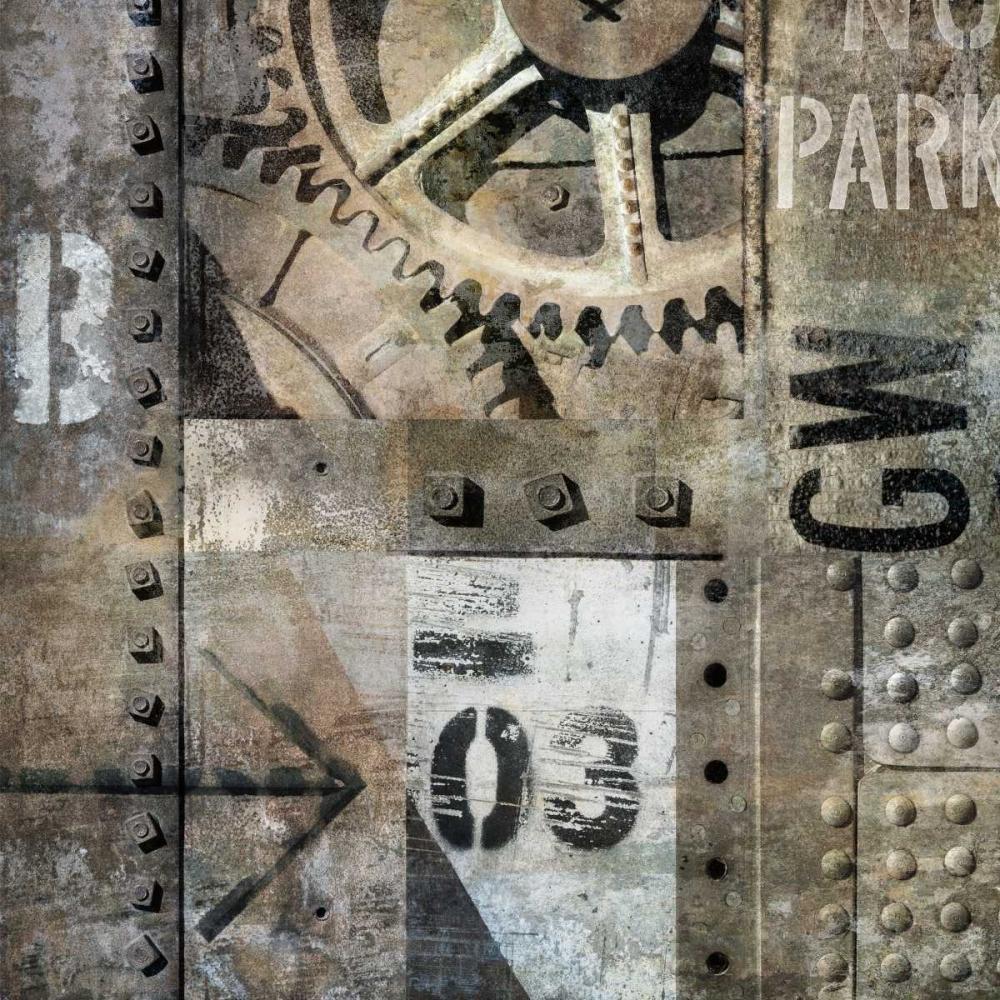 konfigurieren des Kunstdrucks in Wunschgröße Industrial I von Matthews, Dylan