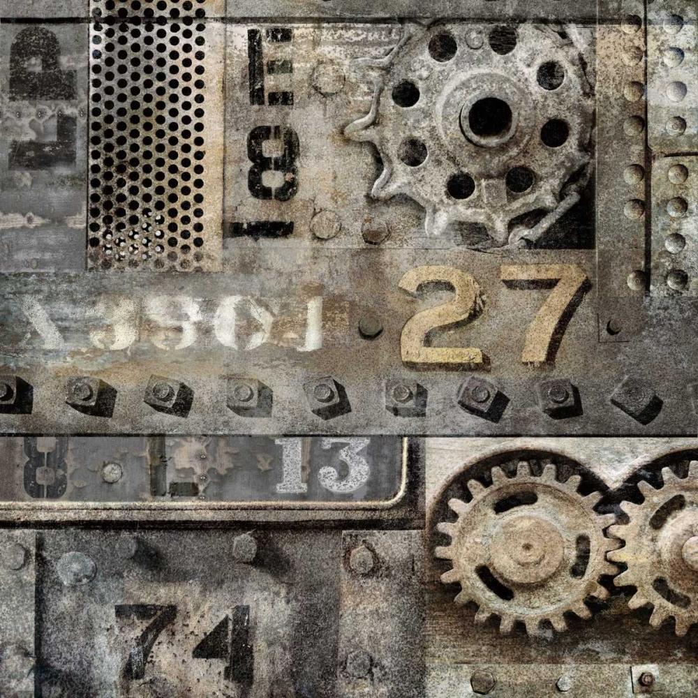konfigurieren des Kunstdrucks in Wunschgröße Industrial II von Matthews, Dylan