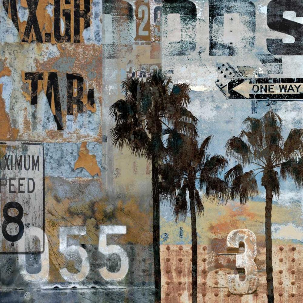 konfigurieren des Kunstdrucks in Wunschgröße Urban Textures von Matthews, Dylan