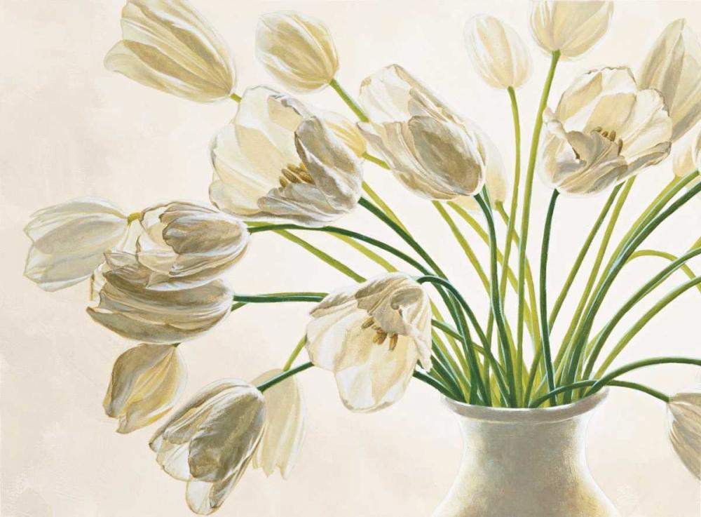konfigurieren des Kunstdrucks in Wunschgröße Bouquet di tulipani von Barberini, Eva
