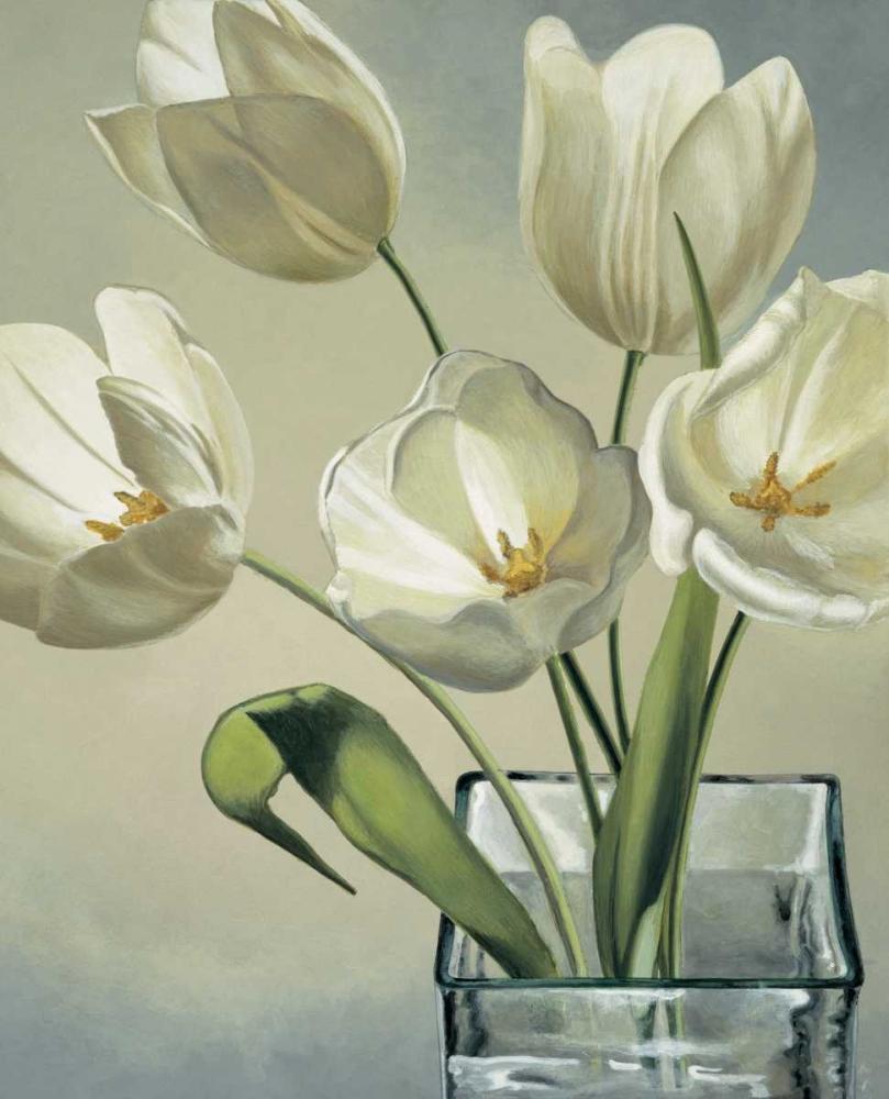 konfigurieren des Kunstdrucks in Wunschgröße Tulipani in vaso von Barberini, Eva