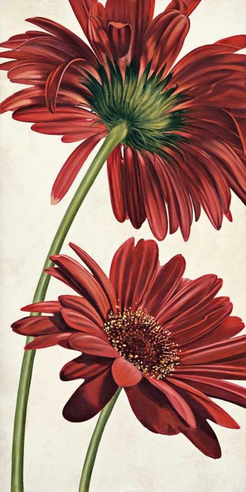 konfigurieren des Kunstdrucks in Wunschgröße Armonie in rosso von Barberini, Eva