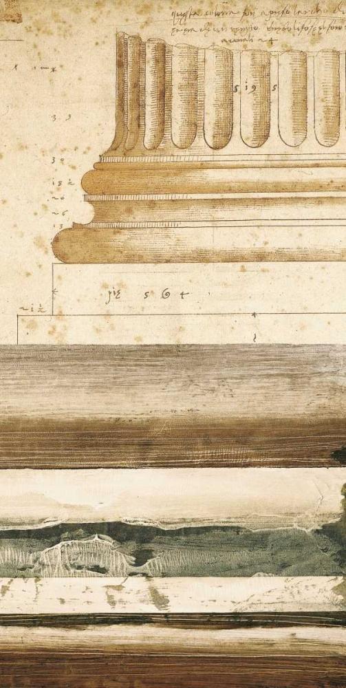 konfigurieren des Kunstdrucks in Wunschgröße Architectural Detail I von Locke, Evan J.
