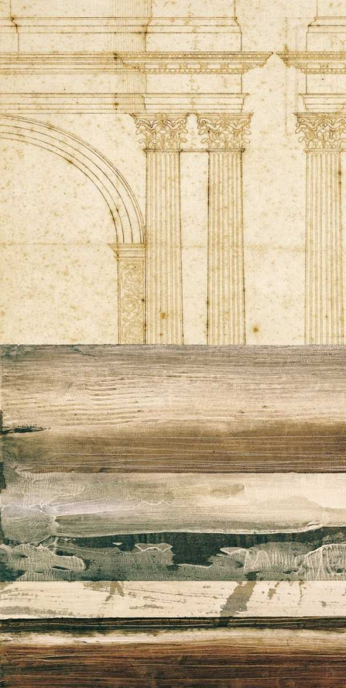 konfigurieren des Kunstdrucks in Wunschgröße Architectural Detail II von Locke, Evan J.