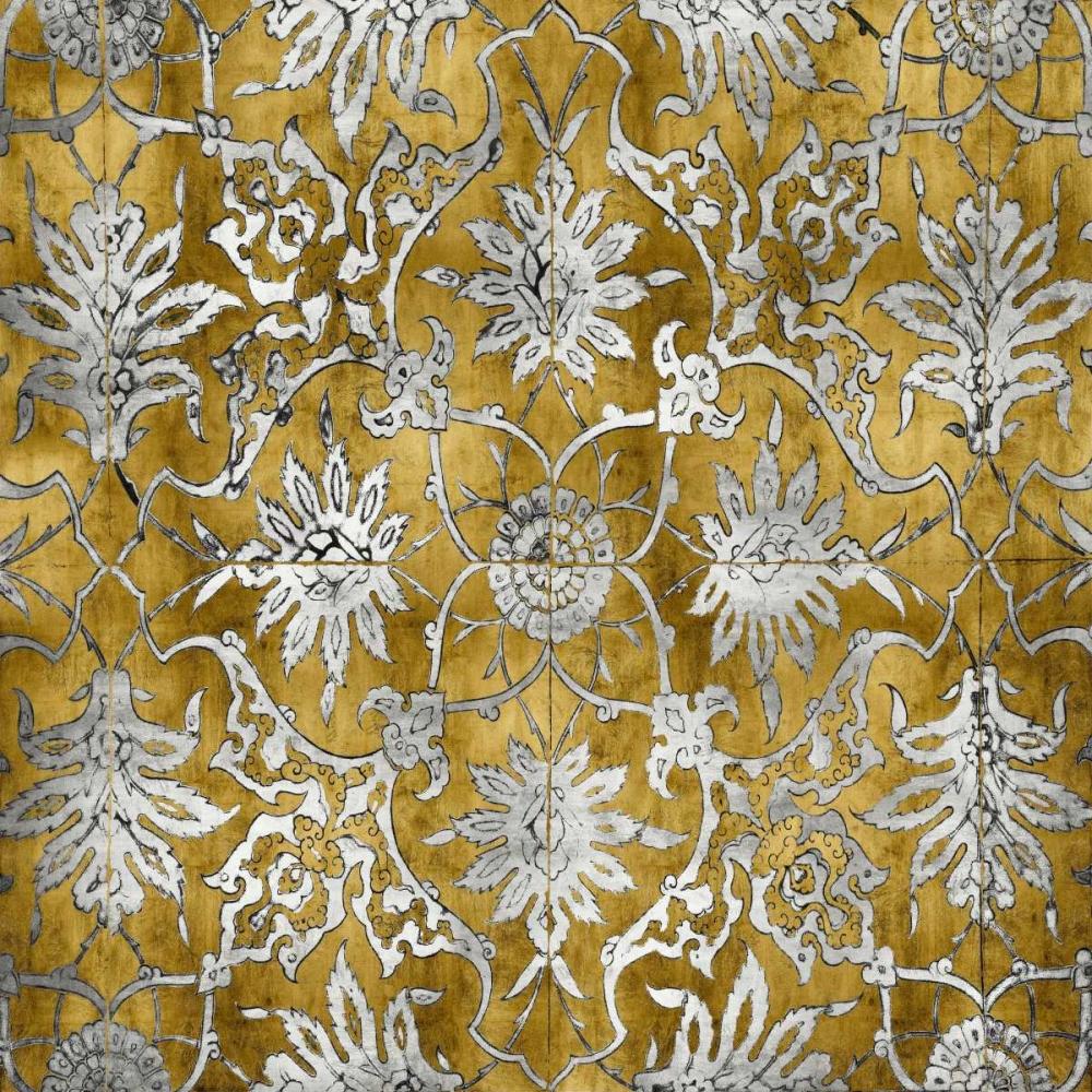 konfigurieren des Kunstdrucks in Wunschgröße Ornate In Gold and Silver von Roberts, Ellie