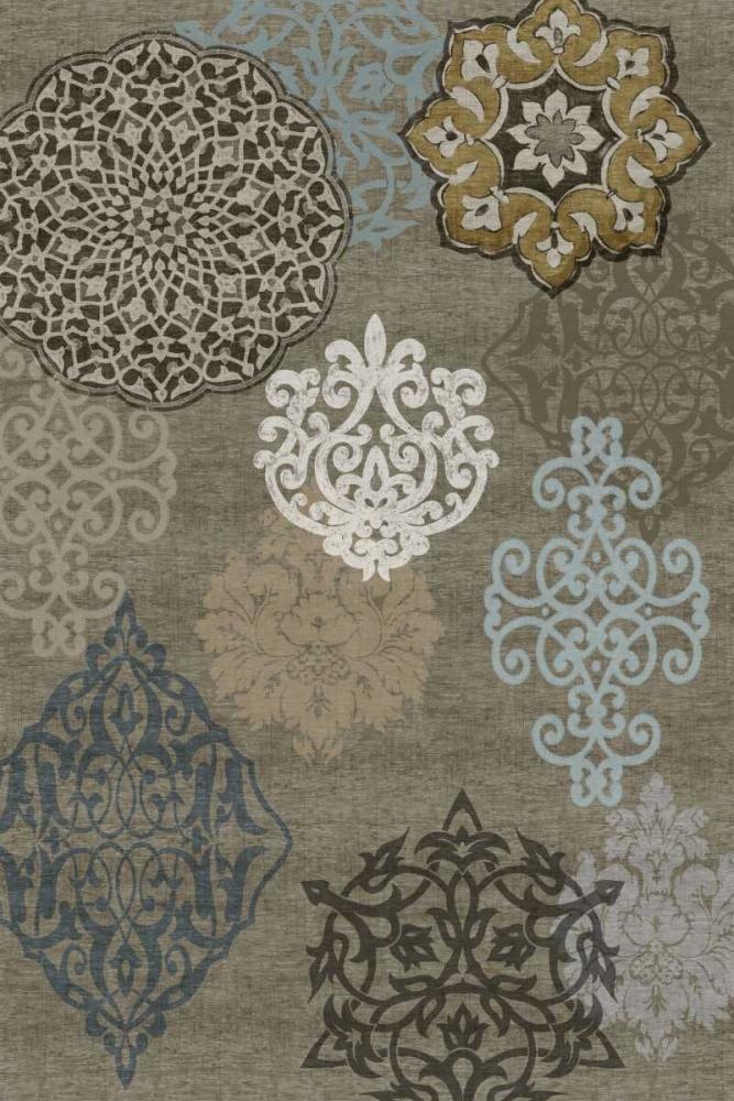 konfigurieren des Kunstdrucks in Wunschgröße Decorative Ormanments I von Roberts, Ellie